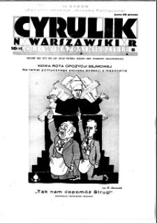 Cyrulik Warszawski, 1930, R. 5, nr 10