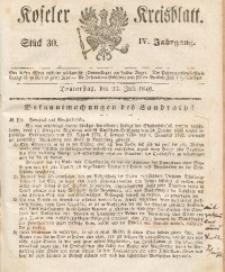 Koseler Kreisblatt, 1846, Jg. 4, St. 30