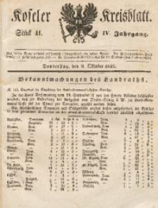 Koseler Kreisblatt, 1846, Jg. 4, St. 41