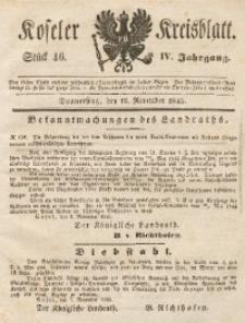 Koseler Kreisblatt, 1846, Jg. 4, St. 46