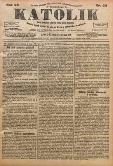 Katolik, 1919, R. 52, nr 52