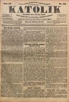 Katolik, 1919, R. 52, nr 62