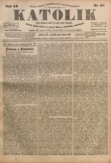 Katolik, 1919, R. 52, nr 67