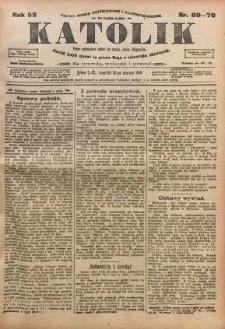 Katolik, 1919, R. 52, nr 69/70