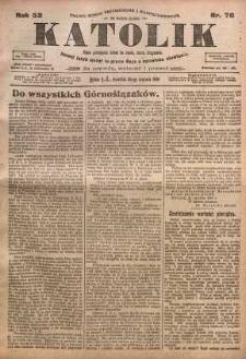 Katolik, 1919, R. 52, nr 76
