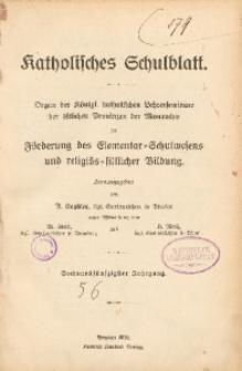 Katholisches Schulblatt. Jg. 56 (1910)