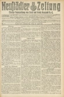 Neustädter Zeitung, 1914, Jg. 25, Nr. 18
