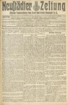 Neustädter Zeitung, 1914, Jg. 25, Nr. 60