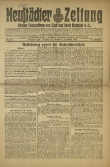 Neustädter Zeitung, 1920, Jg. 31, Nr. 252