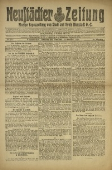 Neustädter Zeitung, 1920, Jg. 31, Nr. 272