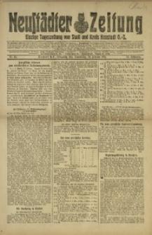 Neustädter Zeitung, 1921, Jg. 32, Nr. 45