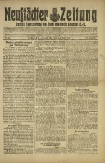 Neustädter Zeitung, 1921, Jg. 32, Nr. 49