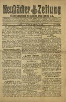 Neustädter Zeitung, 1921, Jg. 32, Nr. 100