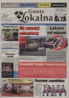 Gazeta Lokalna : tygodnik Kędzierzyńsko-Kozielski 2006, nr 18 (358) [356].