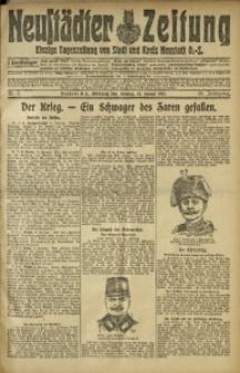 Neustädter Zeitung, 1915, Jg. 25 [właśc. 26], Nr. 7