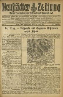 Neustädter Zeitung, 1915, Jg. 25 [właśc. 26], Nr. 8
