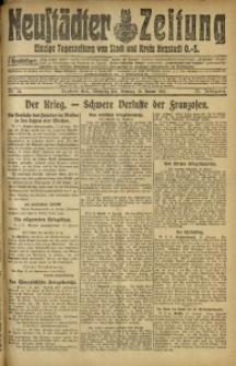 Neustädter Zeitung, 1915, Jg. 25 [właśc. 26], Nr. 14