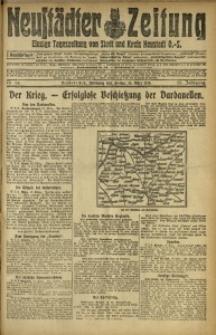 Neustädter Zeitung, 1915, Jg. 25 [właśc. 26], Nr. 64