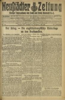 Neustädter Zeitung, 1915, Jg. 25 [właśc. 26], Nr. 98