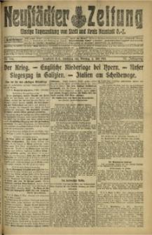 Neustädter Zeitung, 1915, Jg. 25 [właśc. 26], Nr. 106