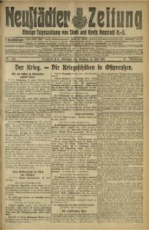 Neustädter Zeitung, 1915, Jg. 25 [właśc. 26], Nr. 133