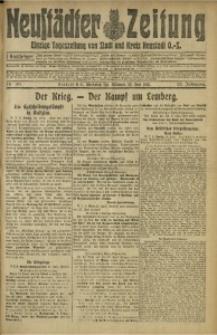 Neustädter Zeitung, 1915, Jg. 25 [właśc. 26], Nr. 140