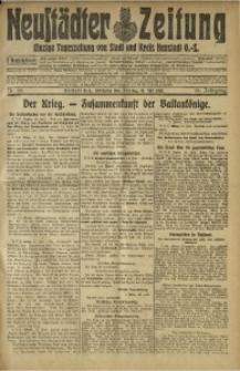Neustädter Zeitung, 1915, Jg. 25 [właśc. 26], Nr. 156