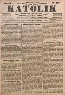 Katolik, 1919, R. 52, nr 127