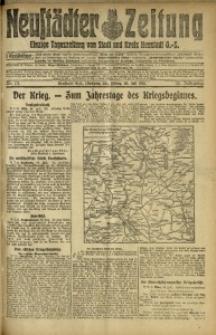 Neustädter Zeitung, 1915, Jg. 25 [właśc. 26], Nr. 171