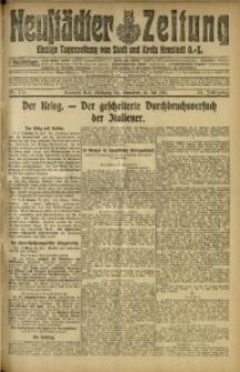 Neustädter Zeitung, 1915, Jg. 25 [właśc. 26], Nr. 172