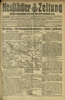 Neustädter Zeitung, 1915, Jg. 25 [właśc. 26], Nr. 174