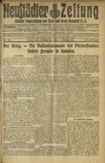 Neustädter Zeitung, 1915, Jg. 25 [właśc. 26], Nr. 213