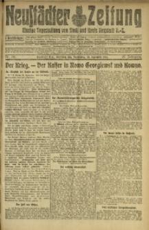 Neustädter Zeitung, 1915, Jg. 25 [właśc. 26], Nr. 218