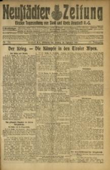 Neustädter Zeitung, 1915, Jg. 25 [właśc. 26], Nr. 221