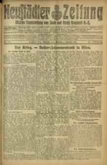Neustädter Zeitung, 1915, Jg. 26, Nr. 275