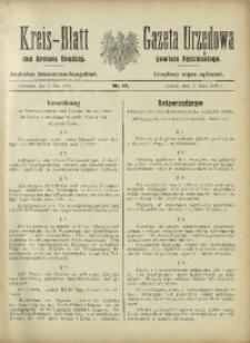 Kreis-Blatt des Kreises Bendzin, 1915, No. 11