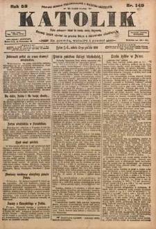 Katolik, 1919, R. 52, nr 149