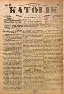 Katolik, 1919, R. 52, nr 1