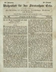 Wochenblatt für das Fürstenthum Oels, 1835, Jg. 2, No. 50