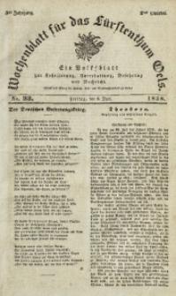 Wochenblatt für das Fürstenthum Oels, 1838, Jg. 5, No. 23