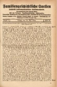 Familiengeschichtliche Quellen, 1932/1934, Bd. 7, H. 25 (Harb-Heid)
