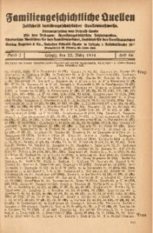 Familiengeschichtliche Quellen, 1932/1934, Bd. 7, H. 66 (Trap-Uliz)