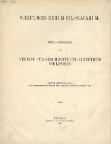 Scriptores rerum silesiacarum. Bd. 15, Das Kriegsgericht wegen der Kapitulation von Breslau 1758