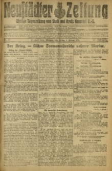 Neustädter Zeitung, 1916, Jg. 27, Nr. 27