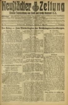 Neustädter Zeitung, 1916, Jg. 27, Nr. 62