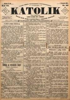 Katolik, 1891, R. 24, nr 62