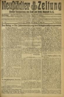 Neustädter Zeitung, 1916, Jg. 27, Nr. 122