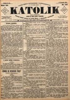 Katolik, 1891, R. 24, nr 66