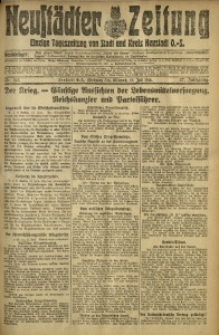 Neustädter Zeitung, 1916, Jg. 27, Nr. 162