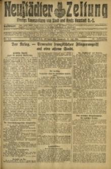Neustädter Zeitung, 1916, Jg. 27, Nr. 165